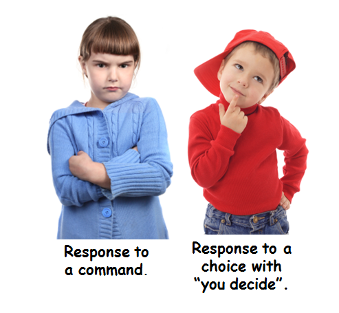 children need choices