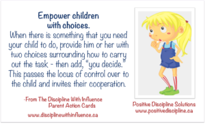 Empower Children with Choices